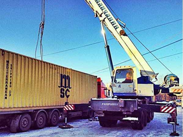 Перемещение контейнеров